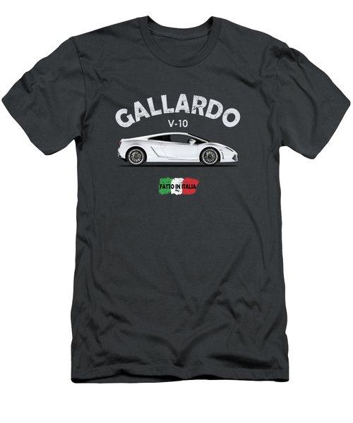 Lamborghini Gallardo Men's T-Shirt (Athletic Fit)
