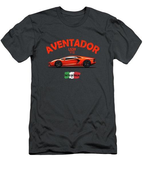 The Lamborghini Aventador Men's T-Shirt (Athletic Fit)