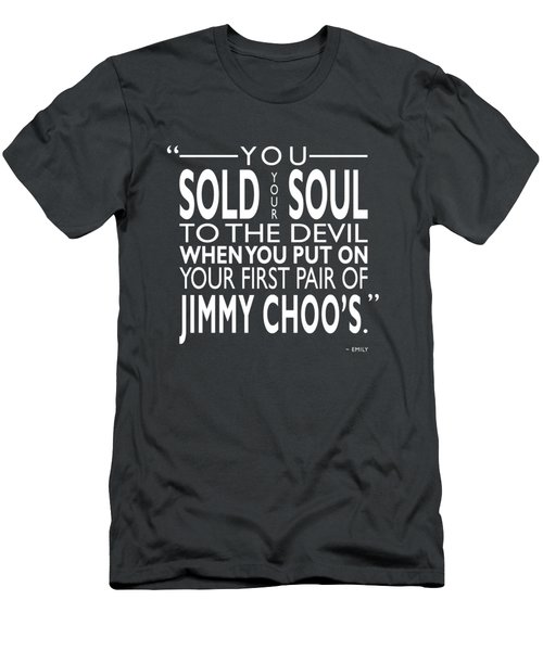 Sold Your Soul To The Devil Men's T-Shirt (Athletic Fit)