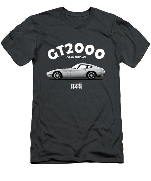 The 2000gt Men's T-Shirt (Athletic Fit)
