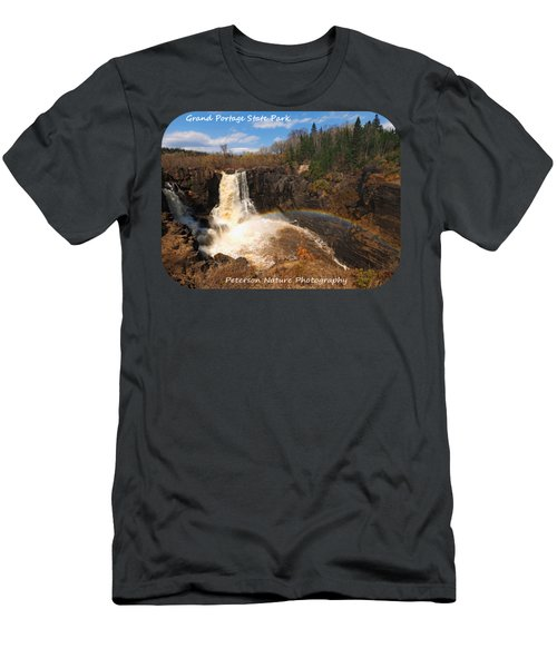 High Falls Rainbow Men's T-Shirt (Athletic Fit)
