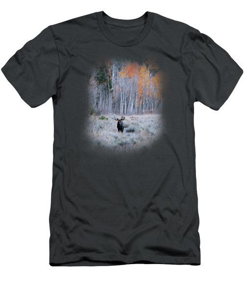 Moose And Aspen Men's T-Shirt (Athletic Fit)