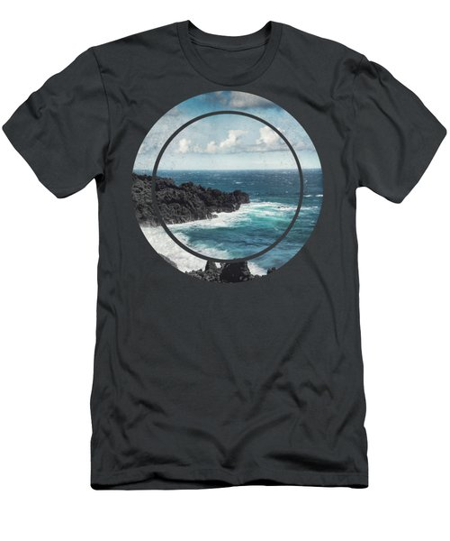 Sea Spray - La Palma - Canary Islands Men's T-Shirt (Athletic Fit)