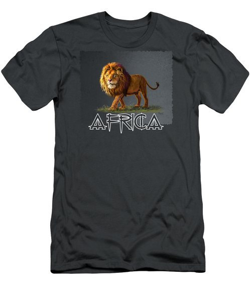 Panthera Leo Men's T-Shirt (Athletic Fit)