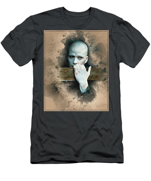 Flanery As Powder Watercolor  Men's T-Shirt (Athletic Fit)