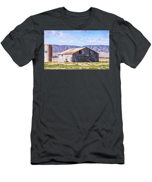 As The Crow Flies Men's T-Shirt (Athletic Fit)