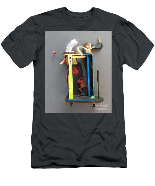 Assemblage #3 Men's T-Shirt (Athletic Fit)
