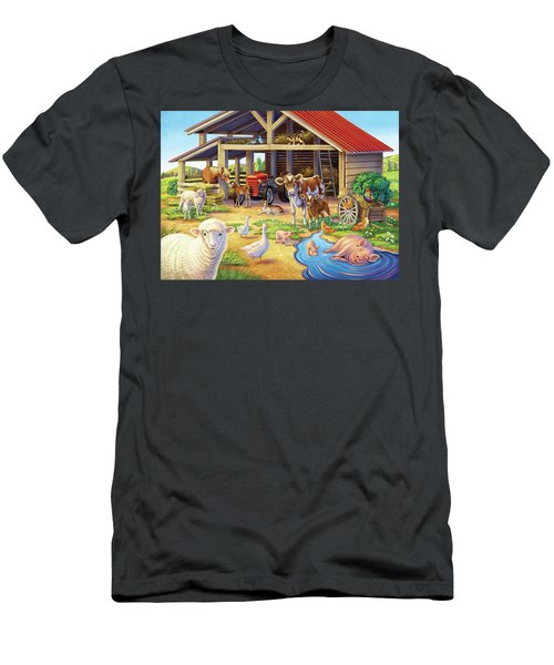 At The Farm Men's T-Shirt (Athletic Fit)