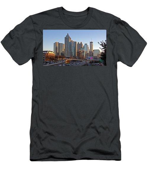 Atlanta - Downtown View Men's T-Shirt (Athletic Fit)