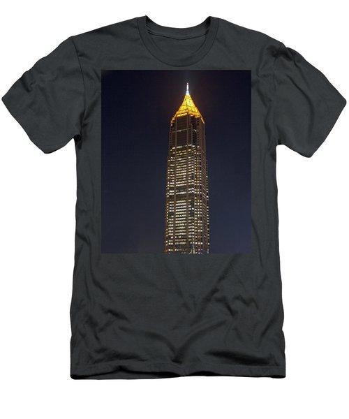 Atlanta, Georgia - Bank Of America Building Men's T-Shirt (Athletic Fit)
