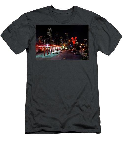 Atlanta, Georgia - The Varsity Drive-in Men's T-Shirt (Athletic Fit)