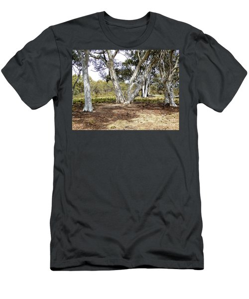 Australian Bush Scene Men's T-Shirt (Athletic Fit)
