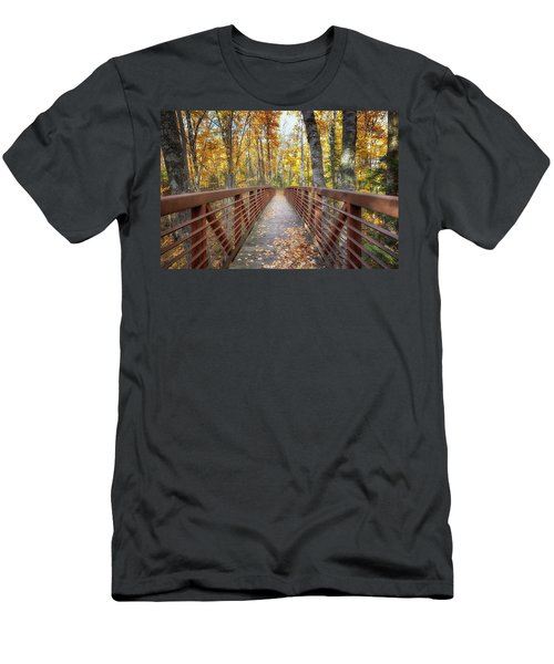 Autumn At Frog Bay  Men's T-Shirt (Athletic Fit)