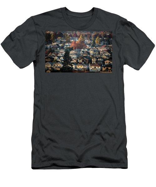 Autumn At Home Men's T-Shirt (Athletic Fit)