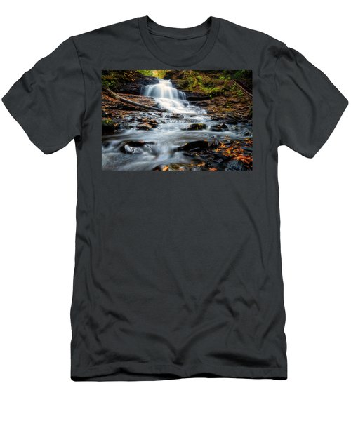 Men's T-Shirt (Athletic Fit) featuring the photograph Autumn Days by Russell Pugh