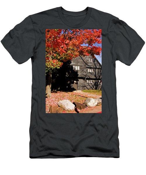 Autumn In Salem Men's T-Shirt (Athletic Fit)