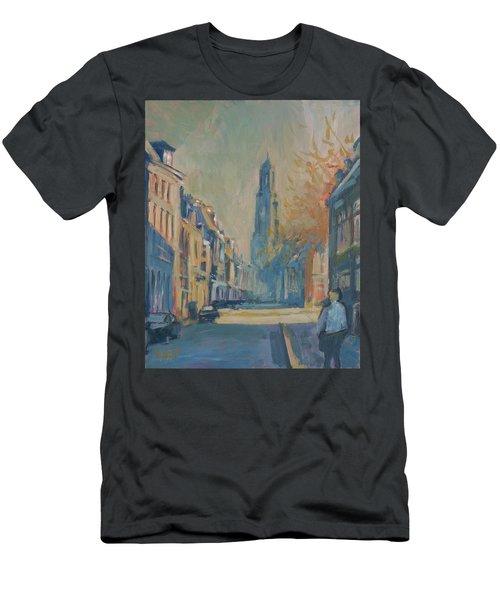 Autumn In The Lange Nieuwstraat Utrecht Men's T-Shirt (Athletic Fit)
