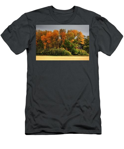 Autumn Is Nigh  Men's T-Shirt (Athletic Fit)