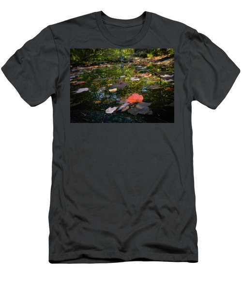 Autumn Leaf Men's T-Shirt (Athletic Fit)