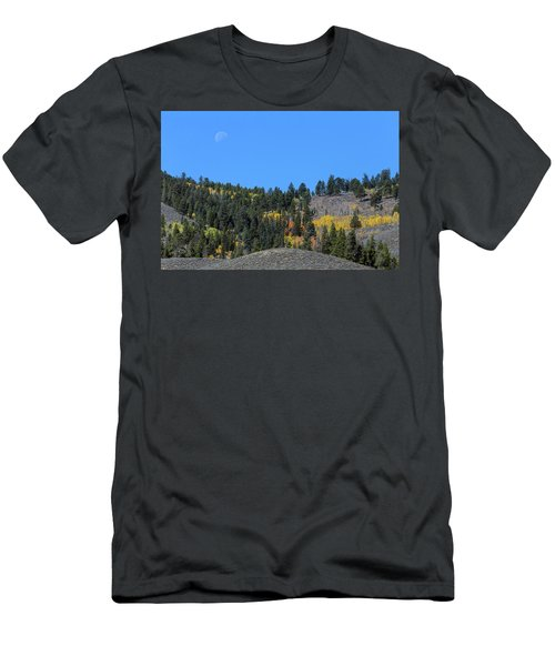 Men's T-Shirt (Athletic Fit) featuring the photograph Autumn Moon by James BO Insogna