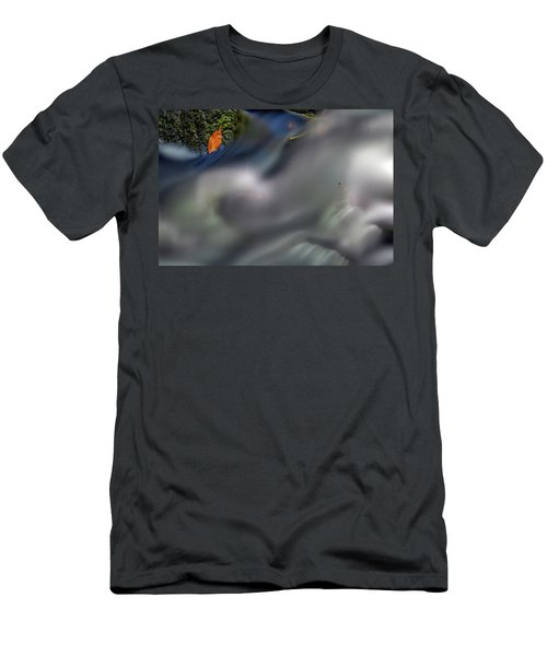 Men's T-Shirt (Athletic Fit) featuring the photograph Autumn Stream by Rick Berk