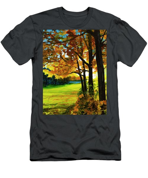 The Sun Will Rise With Healing In His Wings Men's T-Shirt (Athletic Fit)