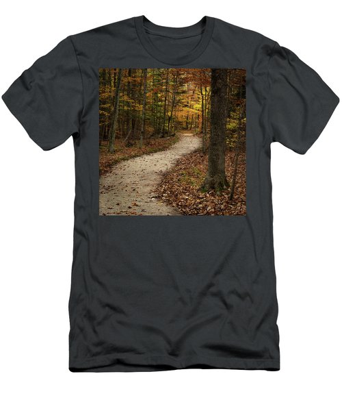 Autumn Trail Men's T-Shirt (Athletic Fit)