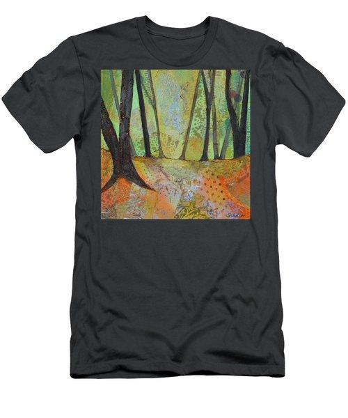 Autumn's Arrival I Men's T-Shirt (Athletic Fit)