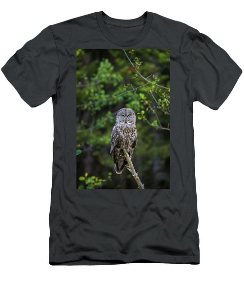 Men's T-Shirt (Athletic Fit) featuring the photograph B16 by Joshua Able's Wildlife