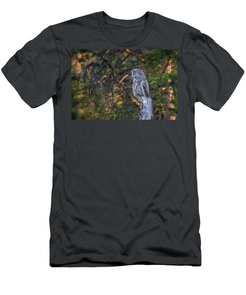 Men's T-Shirt (Athletic Fit) featuring the photograph B46 by Joshua Able's Wildlife