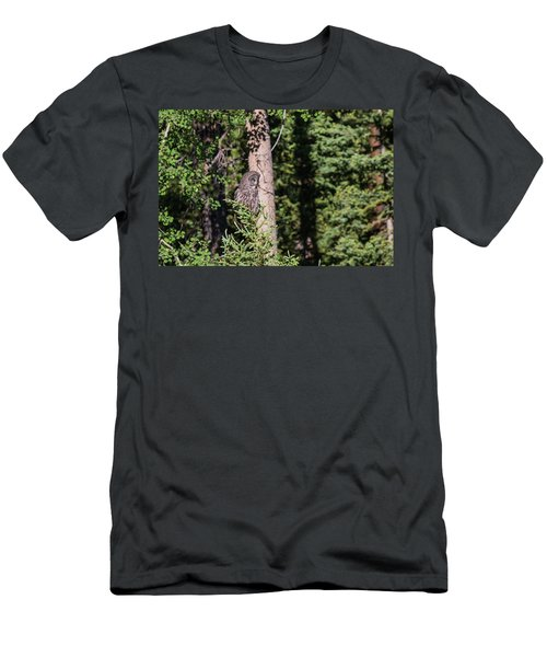 Men's T-Shirt (Athletic Fit) featuring the photograph B50 by Joshua Able's Wildlife