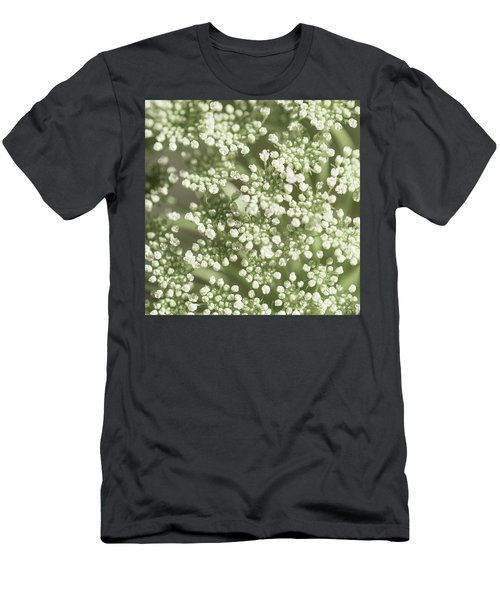 Men's T-Shirt (Athletic Fit) featuring the photograph Babys Breath 1308 by Mark Shoolery