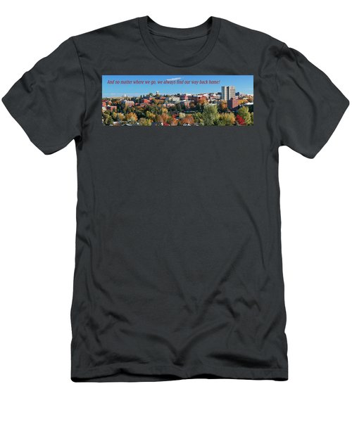 Men's T-Shirt (Athletic Fit) featuring the photograph Back Home 2 by David Patterson