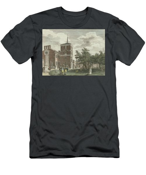 Back Of State House Men's T-Shirt (Athletic Fit)
