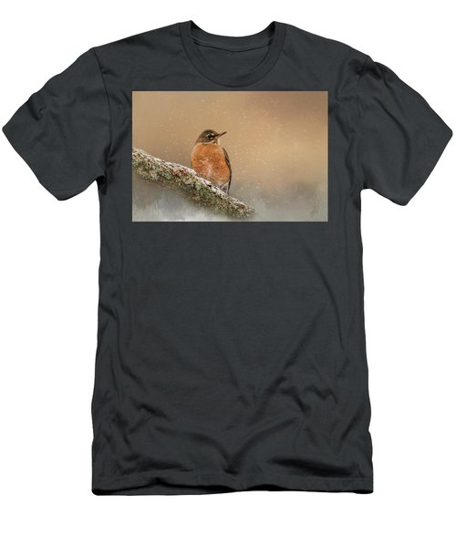 Backyard Visitor Men's T-Shirt (Athletic Fit)