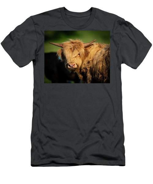 Men's T-Shirt (Athletic Fit) featuring the photograph Bad Hair Day 4 X 5 by Jeff Phillippi