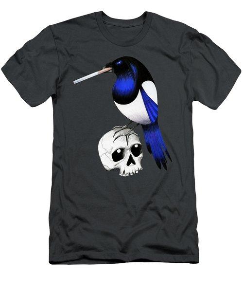 Badass Magpie Men's T-Shirt (Athletic Fit)