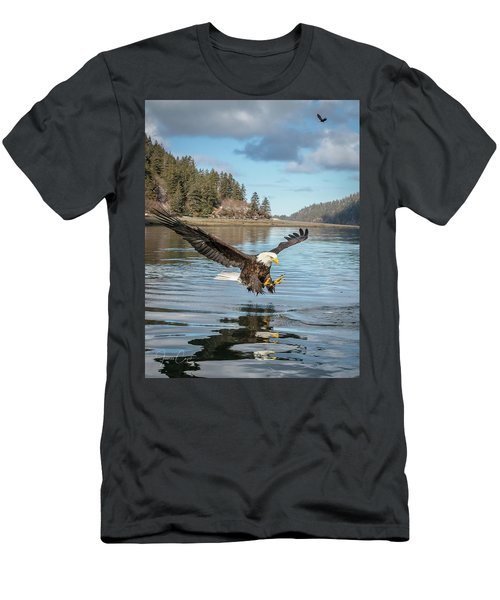 Bald Eagle Fishing In Sadie Cove Men's T-Shirt (Athletic Fit)