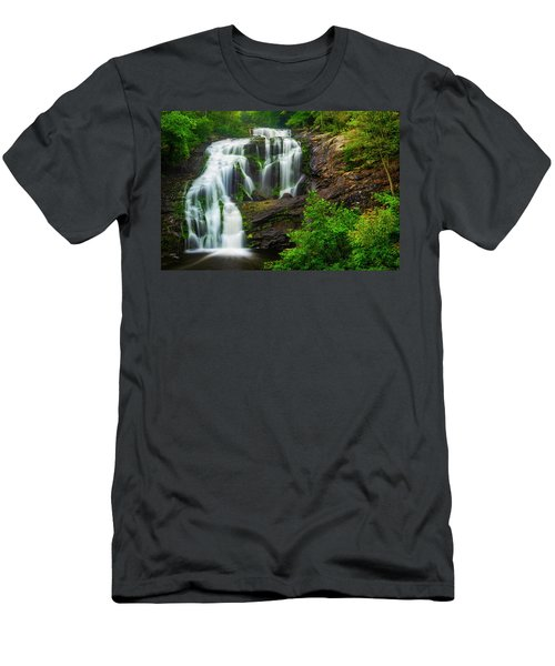 Bald River Falls Men's T-Shirt (Athletic Fit)