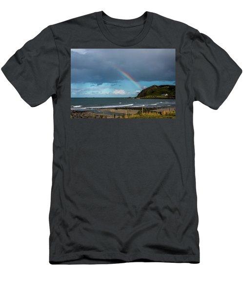 Ballygally Rainbow Men's T-Shirt (Athletic Fit)