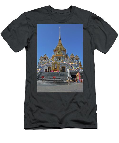 Bangkok, Thailand - Golden Buddha Temple Men's T-Shirt (Athletic Fit)