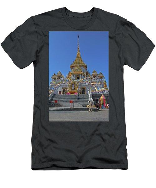 Bangkok, Thailand - Golden Buddha Temple Men's T-Shirt (Athletic Fit)