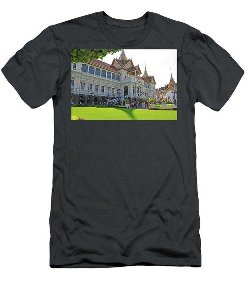Bangkok, Thailand - The Grand Palace Men's T-Shirt (Athletic Fit)