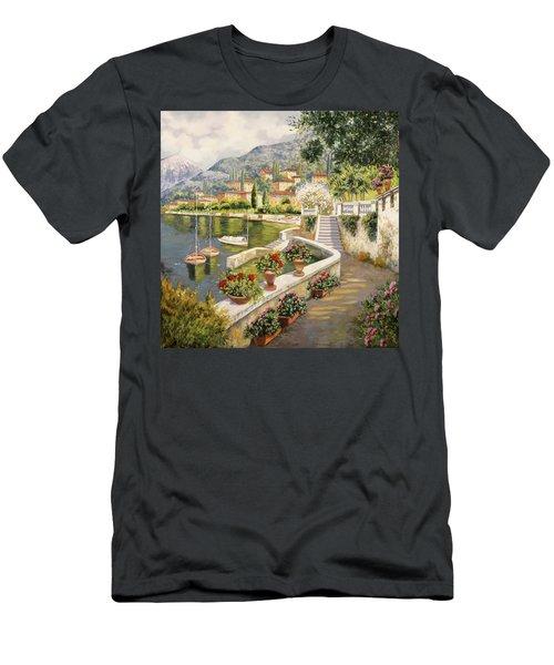 barche a Bellagio Men's T-Shirt (Athletic Fit)