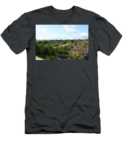 Barnard Castle View Men's T-Shirt (Athletic Fit)