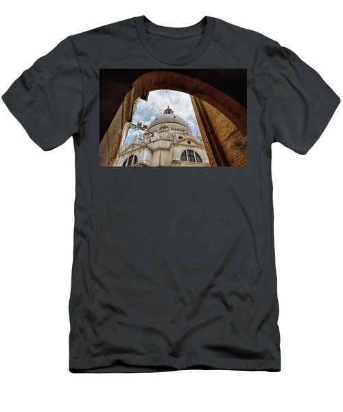 Basilica Di Santa Maria Della Salute Venice Italy Men's T-Shirt (Athletic Fit)