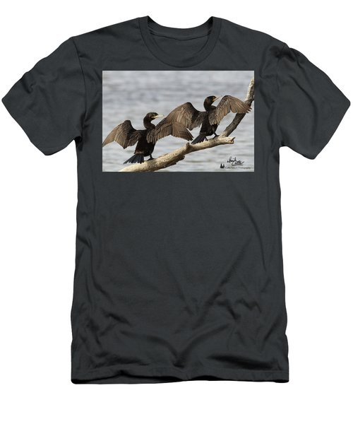 Basking In The Winter Sun Men's T-Shirt (Athletic Fit)