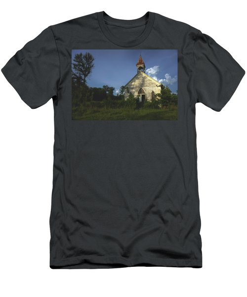 Bats In The Belltower Men's T-Shirt (Athletic Fit)