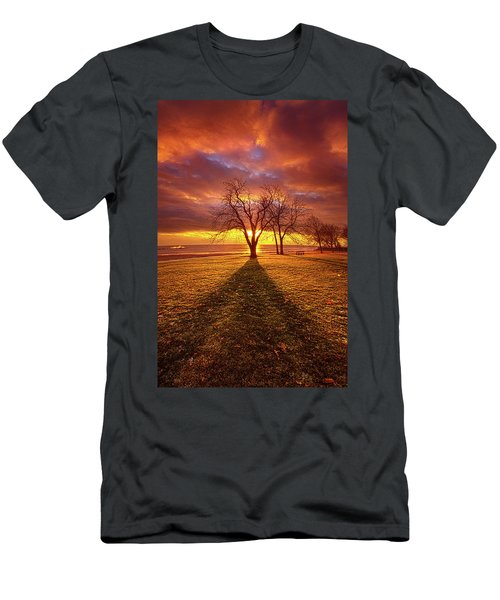 Men's T-Shirt (Athletic Fit) featuring the photograph Be Still In The Moment by Phil Koch