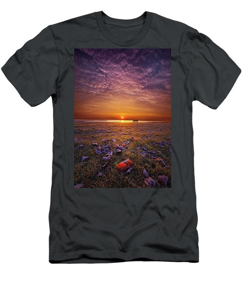 Men's T-Shirt (Athletic Fit) featuring the photograph Be The Light by Phil Koch